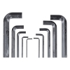 Набор ключей инбусовых 10 шт (2-14 мм) BIBER