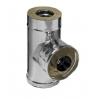 Сэндвич-тройник 90° (AISI 430+нерж.сталь, 0.8 мм) d-115/200 мм