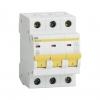 Выключатель автоматический модульный 3П С 10А 4.5 кА ВА47-29 IEK