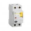 Выключатель дифференциального тока УЗО 2П 25А 30 мА тип AC ВД1-63 IEK