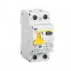 Выключатель автоматический диф. тока 1П+N 2 мод. С 32А 30 мА 6 кА АВДТ32 IEK
