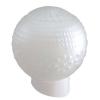 Светильник НББ 64-60-080 Цветочек d150 мм шар стекло матовое, наклонное основ. 60 Вт Элетех