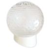 Светильник НББ 64-60-080 Цветочек d150 мм шар стекло прозрачное, наклонное основ. 60 Вт Элетех