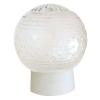 Светильник НББ 64-60-080 Цветочек d150 мм шар стекло прозрачное, прямое основ. 60 Вт Элетех