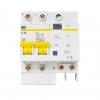 Выключатель автоматический диф. тока 2П 3.5 мод. С 16А 30 мА 4.5 кА АД12 IEK