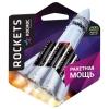 Элемент питания LR03 ААА premium ROCKETS 1.5 В 4BL (4 шт) Космос