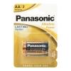 Батарейка щелочная LR6 АА Alkaline 1.5 В (2 шт) Panasonic