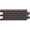 Фасадная панель Grand Line Состаренный кирпич Премиум 418x1109 мм (шоколад)