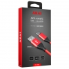 Кабель USB А-microUSB CBL208RD Akai красный