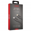 Кабель USB Type C-Lightning CBL214B Akai черный