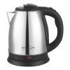 Чайник MAXTRONIC MAX-501 1,5л, 1500 Вт, нерж.корпус, диск, черный