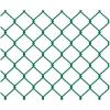Сетка рабица оцинкованная с полимерным покрытием 55х55 мм d-2.7 мм 1.5х15 м зеленая (RAL 6029)