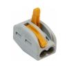 Клемма на 2 провода 0.08-2.5 мм² (9 шт) WAGO 222-412