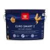 Краска влагостойкая интерьерная Tikkurila Euro Smart 2 белая база VVA 9 л