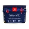 Краска моющаяся интерьерная Tikkurila Euro Power 7 база А белая база А 9 л