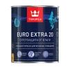 Краска для влажных помещений Tikkurila Euro Extra 20 белая база А 0.9 л