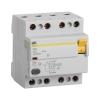 Выключатель дифференциального тока УЗО 4П 40А 300 мА тип AC ВД1-63 IEK