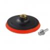 Диск (насадка) пластик с липучкой для УШМ ZOLDER 125 мм (неопреновая прокладка)
