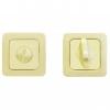 Завёртка сантехническая Аллюр BK-S1 (матовое золото/золото)