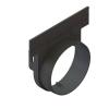 Заглушка с выпуском пластиковая ЗВЛВ-10.16.17-ПП для лотка водоотводного 8000-М/80001-М Standartpark