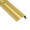 Порог для кромок ступеней Д13 41х22х1800 мм золотой