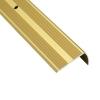 Порог для кромок ступеней Д13 41х22х900 мм золотой