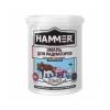 Эмаль для радиаторов HAMMER акриловая белая Эмаль термостойкая HAMMER белая 0.9 кг