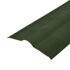 Конек для Ондулина 1000 мм зеленый