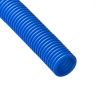 Труба гофрированная для МПТ синяя d32 (внутр. диам. 24, 20) 50 м SK32BLUE