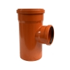 Тройник для наружной канализации 200х160 мм угол 87°(90°)