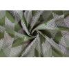 Портьера Этери 150х260 см зеленая Legrand