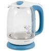 Чайник электр. ENERGY E-281, 1.7л стекло, пластик (голубой)