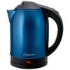 Чайник электр. HOMESTAR HS-1009, 1.8л сталь (синий)