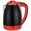 Чайник электр. HOMESTAR HS-1015, 1.8л пластик (черно-красный)