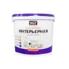 Краска влагостойкая интерьерная VGT ВД-АК-2180 белоснежная 3 кг