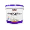 Краска влагостойкая интерьерная VGT ВД-АК-2180 белоснежная 1.5 кг