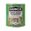 Грунт-эмаль по ржавчине 3в1 HAMMER зеленая 2.7 кг