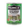 Грунт-эмаль по ржавчине 3в1 HAMMER серая 0.9 кг