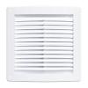 Решетка вентиляционная ПВХ Воздух белая 190х190 мм