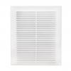 Решетка вентиляционная пластик белая 130х130 мм