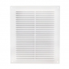 Решетка вентиляционная пластик белая 150х150 мм