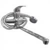Смеситель для ванны Подольск ЦС-СМ 300-4 35 мм плоский излив 260 мм ручка литая (М42)