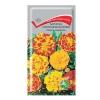 Семена цветов Бархатцы отклоненные махровые (Тегетес) смесь окрасок Поиск (0.3 г)