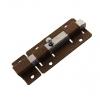 Задвижка дверная ЗД-06 квадратный засов, бронза Металлист