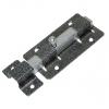 Задвижка дверная ЗД-06 квадратный засов, серебро Металлист