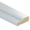 Брус коробочный Логика 70х30х2100 мм белый (без уплотнителя)