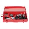 Аппарат для сварки пласт. труб КW800 800 Вт 300 °C насадки 20-25-32-40-50-63 мм мет.кейс Kronwerk
