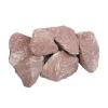 Камни для бань и саун Малиновый кварцит колотый 20 кг