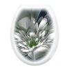 Сиденье для унитаза фотопринт цветок
