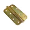 Петля накладная Металлист ПН1-110 (желтый цинк) правая